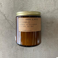 P.F.Candle Co.(ピーエフキャンドル)Soy Wax Candle/7.2oz/11.AMBER&MOSS
