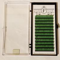 シングルカラーラッシュ《グリーン》Cカール0.15mm 9~15mm
