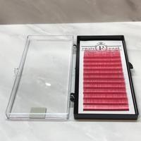 ボリュームラッシュ<ピンク> Cカール 0.07mm 9~15mm