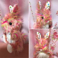 ゆめぐるみ(rainbow bunny)たちみみ水玉