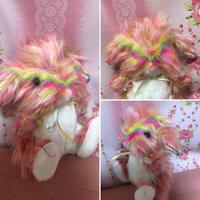 ゆめぐるみ(rainbow bunny)たれみみ水玉