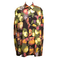 Soulland/HUTTNUTT フルーツプリントシャツ