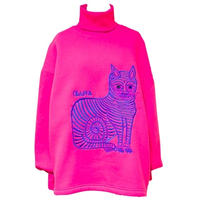 SVARKA/Pink Catスウェット
