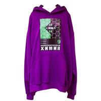 SVARKA/紫フーディ
