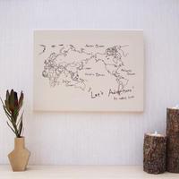 P.F WORLD MAP