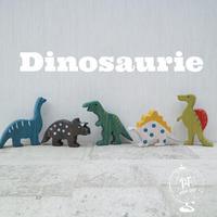 wood dinosaurs