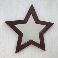 星型ミラー  大  ローズウッド