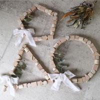 wood wreathe