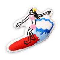84356 PGクッションバッチ SURF GIRL