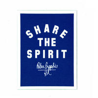 84283 PGステッカー SHARE THE SPIRIT
