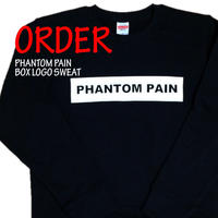 《PHANTOM PAIN BOX LOGO SWEAT》※受注生産※