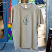PLAYER Tシャツ(MVP COFFEE) サンドカーキ