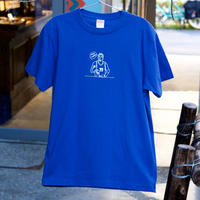 PLAYER Tシャツ(more coffee?) ロイヤルブルー