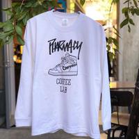 KICKS ロングスリーブTシャツ(ホワイト)