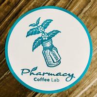 Pharmacy Coffee Lab  ロゴステッカー