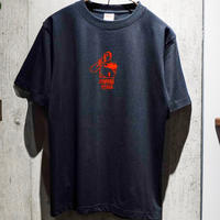 PLAYER Tシャツ(COFFEE TIME)  ブラック