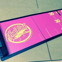 phat lab メジャーボード ピンク×イエロー 折り畳み式