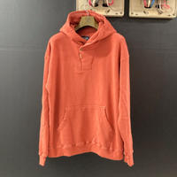 「THE UNION」THE FABRIC / HOOD ZIP PULLOVER SWT / color - RED