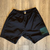「THE UNION」THE FABRIC / NYLON HALF PANTS / color - BLACK