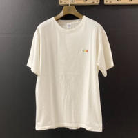 """「THE UNION」THE FABRIC / """"BUS STOP"""" TEE / color -   WHITE"""