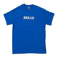 "「THE UNIIN」THE ""BREAK"" TEE  / color - SAX BLUE"