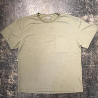 「THE FABRIC」POCKET TEE - color / OLIVE