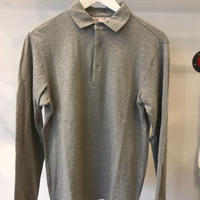 L/S POLO / color-GREY
