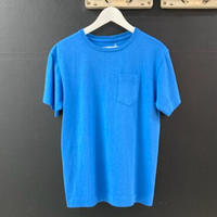 「NECESSARY or UNNECESSARY」POKET  TEE  / color - BLUE