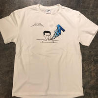 "「THE UNIIN」""FUUU & HAAA"" T-SHIRTS - color / WHITE x BLUE (男湯)"