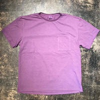 「THE UNION」POCKET TEE - color / PURPLE (moreAXE SPECIAL)
