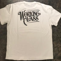「THE UNION」WORKING CLASS TEE - color / WHITE