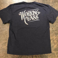 "「THE UNION」""WORKING CLASS"" T-SHIRTS - color / NAVY"
