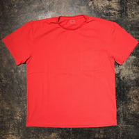「THEUNION」POCKET TEE - color / RED (moreAXE  SPECIAL)