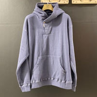 「THE UNION」THE FABRIC / HOOD ZIP PULLOVER SWT / color - NAVY