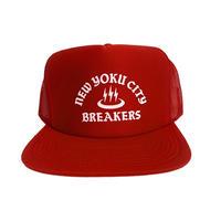 「THE UNIIN」NEWYOKU CITY BREAKERS MESH CAP / color - RED