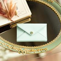 エンベロープ 型カードケース(名刺入れ) ヴォー・エプソン/アイスグリーン