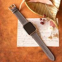 Apple Watch レザーベルト(44MM/40MM) ヴォー・エプソン/エタンxヴォー・バレニア/ゴールド