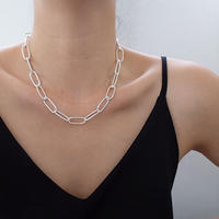 Middle chain Necklace (S20-AW002)