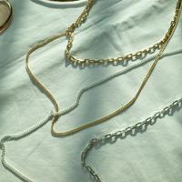2way C necklace  (NC19-003)