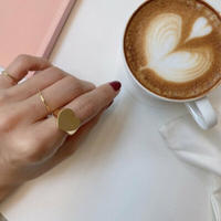 ♡ pinky ring (R20-AW009-ツヤなし)