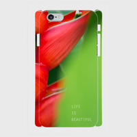 "iPhone5/5s/SE,6/6sケース ""LIFE IS BEAUTIFUL"""