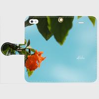 iPhone5/5s/SE用 手帳ケース -pualoha-