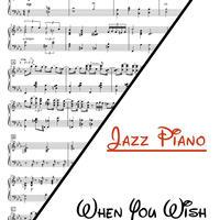 星に願いを ジャズアレンジ 楽譜(ピアノソロ上級)When You Wish Upon A Star - Jonny May