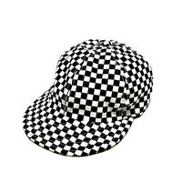 "LOW STRAP CAP "" Checkered FLAG"""