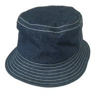 BUCKET HAT  INDIGO DENIM