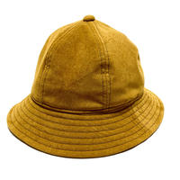 "6P HAT "" FAKE SUEDE MUSTARD BROWN """