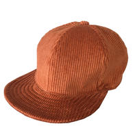 SNAP BACK CAP FAT CORDS ORANGE