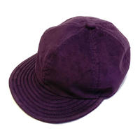 "LOW STRAP CAP ""CORDUROY PURPLE"""