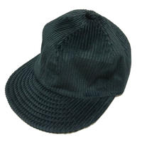 LOW STRAP CAP FAT CORDUROY BLACK