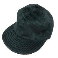 【在庫あり】LOW STRAP CAP FAT CORDUROY BLACK  Size M